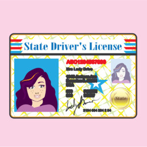 A vector of a U.S. driver's license. Credit © Anton_novik | Dreamstime.com
