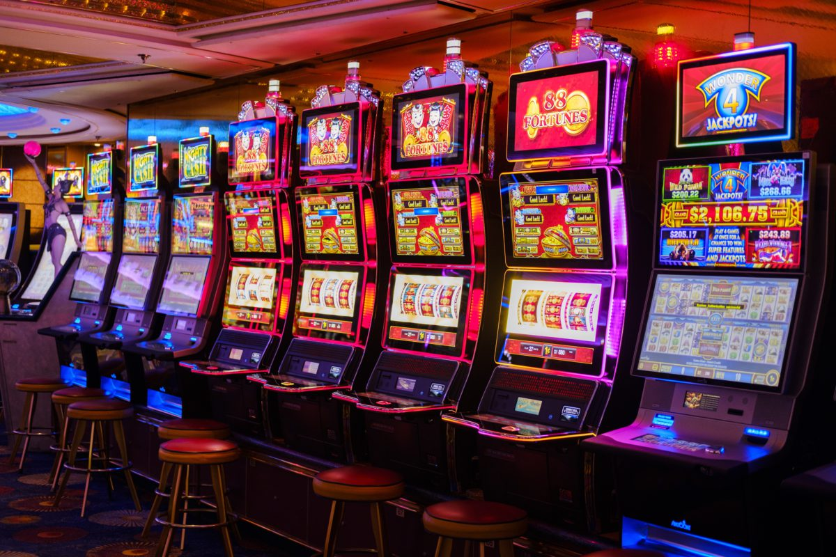 Representative photo of casino games