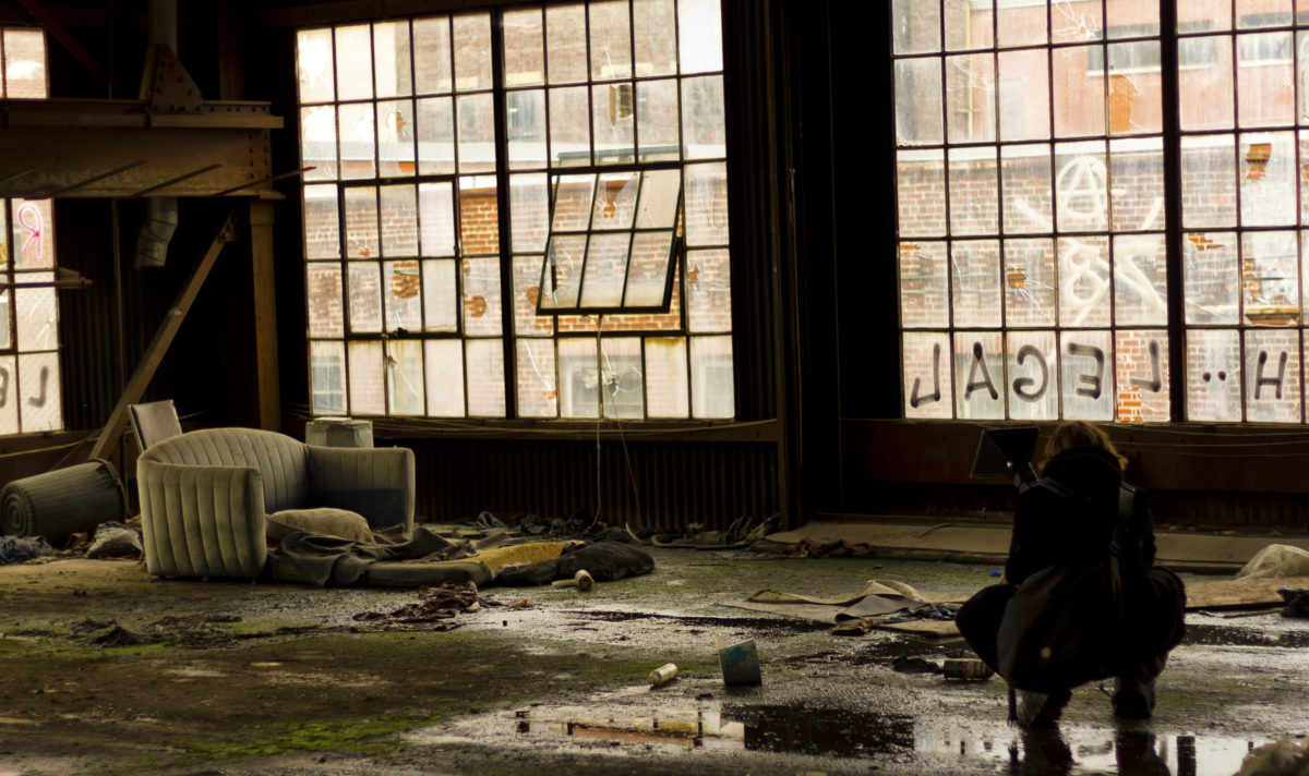 CSI Photographer taking pictures of a crime scene © Martial Genest | Dreamstime.com