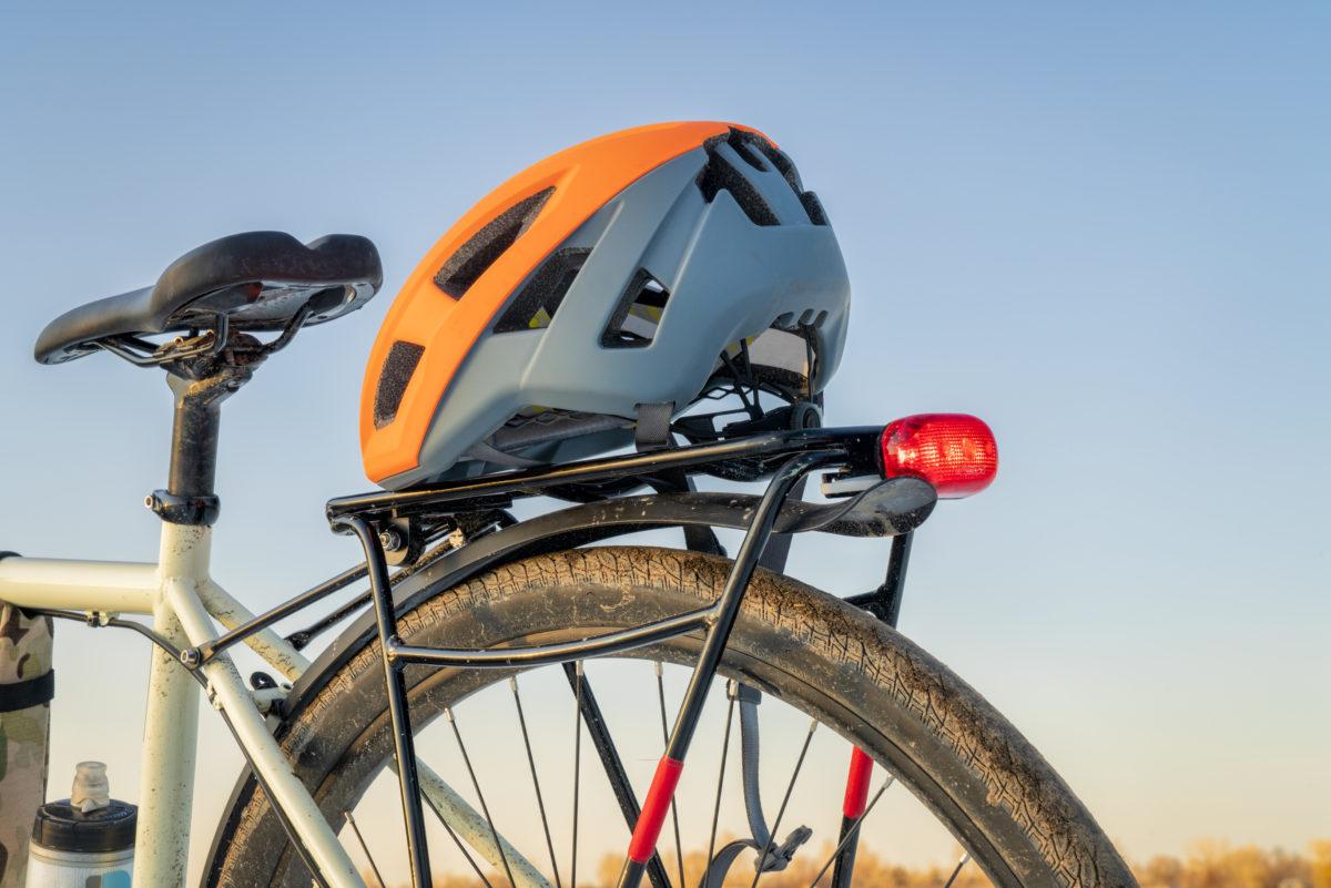 Concept photo of a helmet on a bicycle © Marek Uliasz | Dreamstime.com
