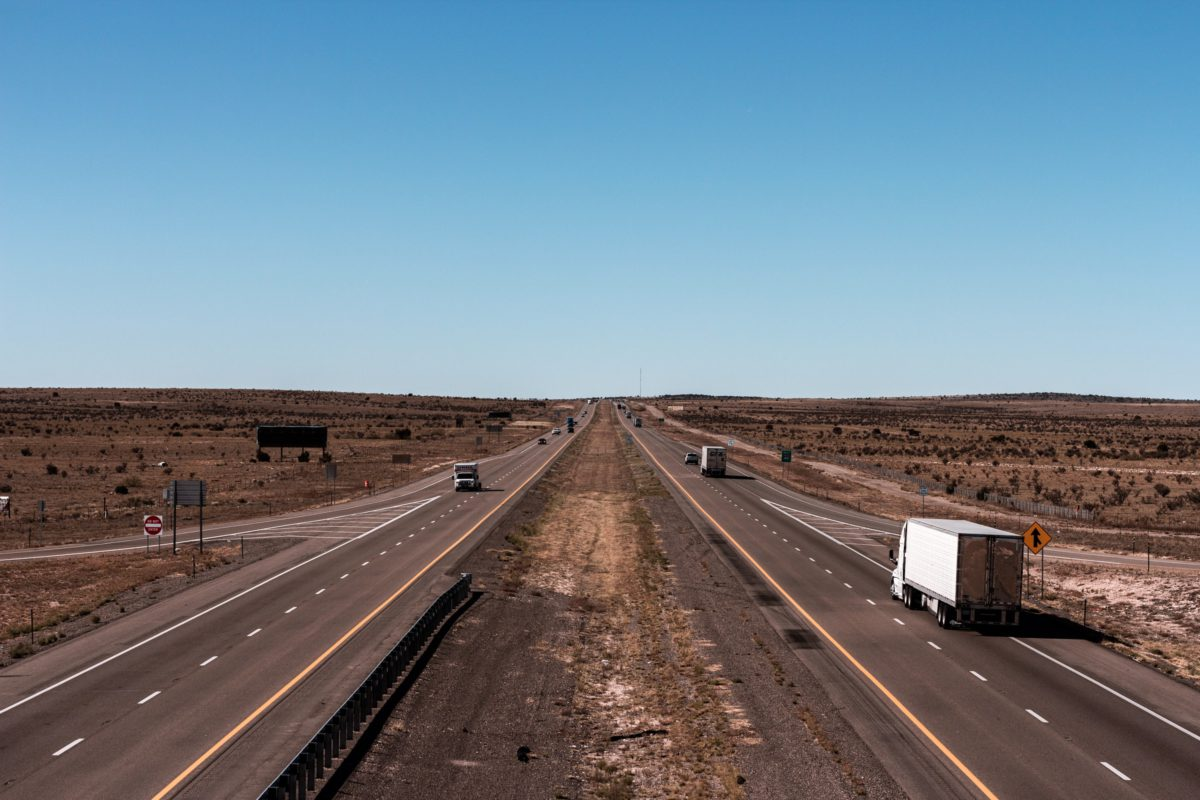 Representative photo of a truck on a highway | Photo by Jahongir ismoilov on Unsplash