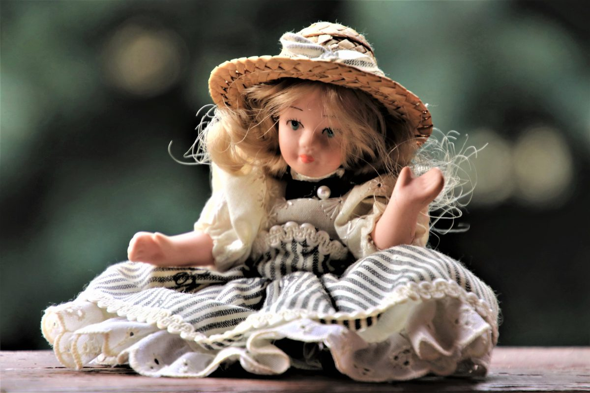Representative photo of a doll | Image by pasja1000 from Pixabay