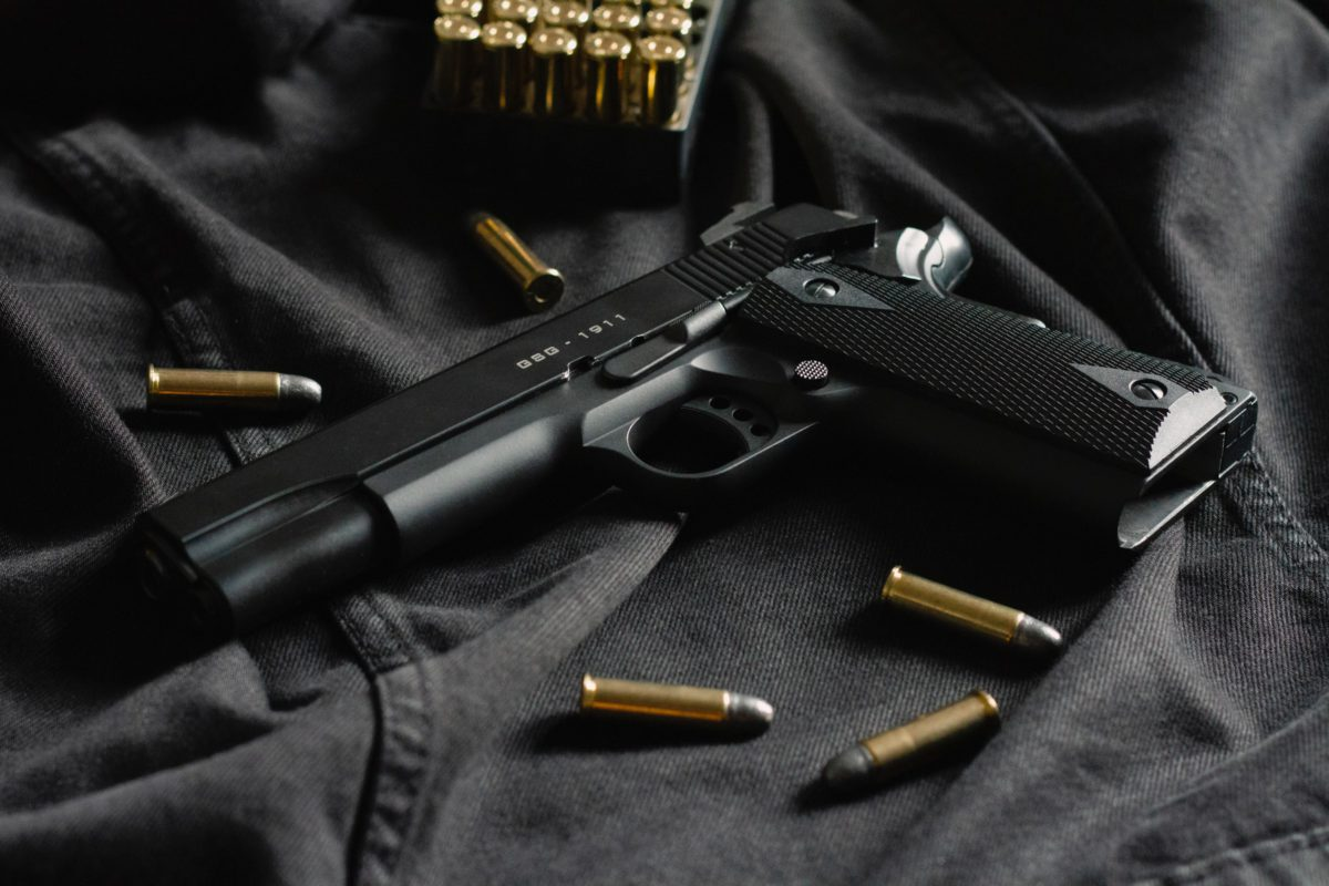 Representative photo of a handgun | Photo by Thomas Def on Unsplash